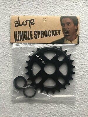 NEW Alone 25 Tooth BMX Sprocket 25T Chainring Fits Odyssey 22 & 19mm Axles Black • 19.99£