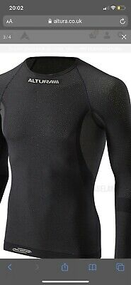 Altura Thermocool Long Sleeved Baselayer In Black Size Small/Medium New Boxed • 20£