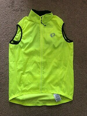 Pearl Izumi Elite Barrier Gillet Yellow Size Large • 30£