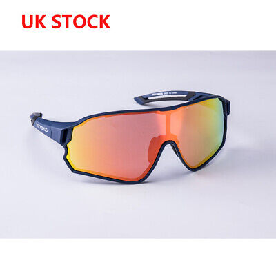 UK RockBros Cycling Polarized Glasses Bicycle Goggles Outdoor Sports Sunglasses • 16.99£