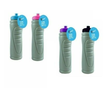 750ml EASY GRIP WATER BOTTLE Drink Drinking Sports Cycling Hiking Fitness Gym • 3.70£