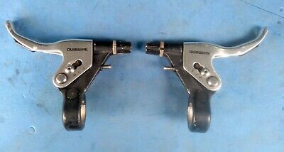 Retro Shimano LX Mountain Bike Brake Levers Servo Wave Action BL-M600 V-Brake • 5£