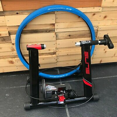 Elite Volare Mag 5 Speed Turbo Indoor Cycle Trainer + Compatible SCHWALBE Tyre • 1.04£