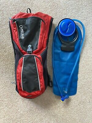 Camelbak Rogue 2L Hydration Pack Bag, Red Black Grey - Free Delivery • 3.77£