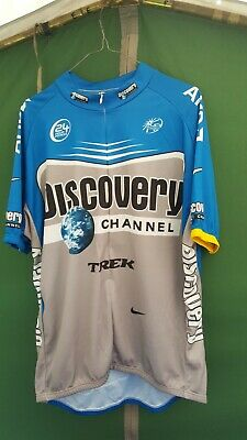 Nike Discovery Team Cycling Jersey 3xl Height In Size  • 15£
