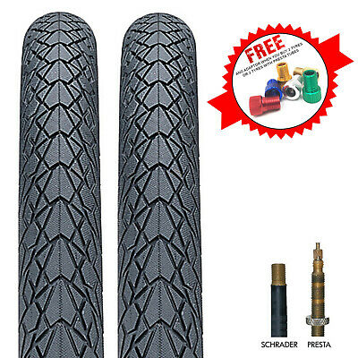 Nutrak Mileater Bike Tyre With Reflective Stripe & Puncture Protection • 20.99£