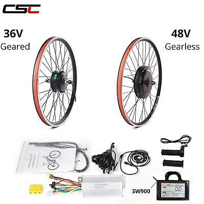 E Bike Conversion Kit Electric Bike Motor Wheel Kit 36V 48V 20-29 Inch 700C • 170.71£