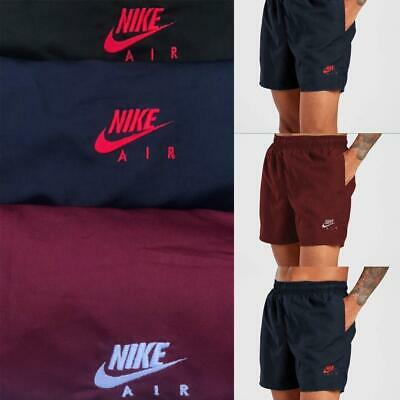 Men's Nike Swiming Football Gym Cycling Short With Mesh Inside & Side Zip Pocket • 13.50£