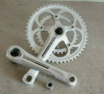 CAMPAGNOLO VELOCE 172.5mm 50 X 34 COMPACT CHAINSET IN EXCELLENT CONDITION • 29£