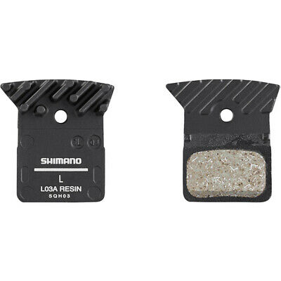Shimano Disc Brake Pads Replacements L03A Spring Alloy Backed With Cooling Fins • 14.99£