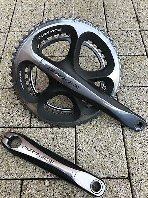 Shimano Dura Ace 53-39 Chainset Crankset Arms Rings 170mm Excellent Condition • 39£