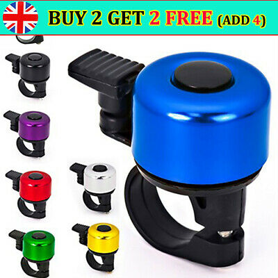 Bike Bell Bicycle Bell Horn Crisp Clear Sound Bike Accessories Bike Ring Bell TH • 2.98£