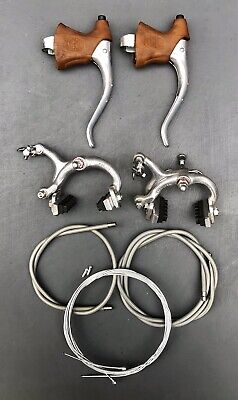 Vintage 1980s Universal Mod.125 Brake Set - Levers / Calipers / Cables - NOS • 55£
