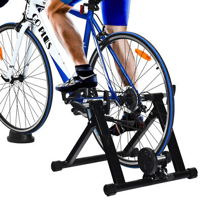 Indoor Bike Stand Exercise Portable Steel Exercise Trainer Stand Training • 79.95£