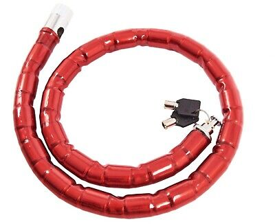 1m X 25mm Heavy Duty Security Cable Lock Cycle Chain Bike Motorbike T1850 UK • 9.55£