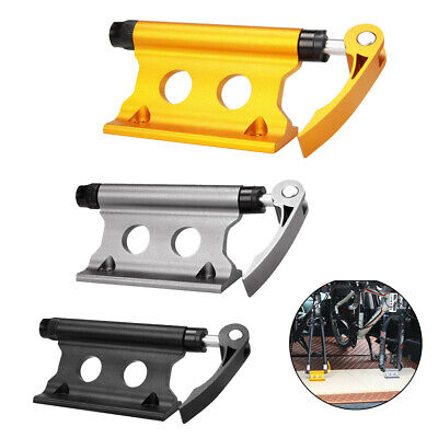 MTB Road Bike Front Fork Stand Holder Bicycle Quick Release Fixed Clamp • 15.17£