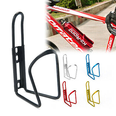 Aluminum Alloy Water Bottle Holder Sports Bike Bicycle Cycling Drink Rack Cages • 3.99£