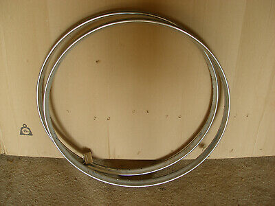 PAIR OF VINTAGE WESTWOOD CHROME RIMS 26 X 1 3/8  MADE BY DUNLOP IN ENGLAND NOS • 49.99£