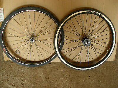 PAIR OF VINTAGE WESTWOOD RIMS 26 X 1 3/8  MADE IN ENGLAND  • 49.99£