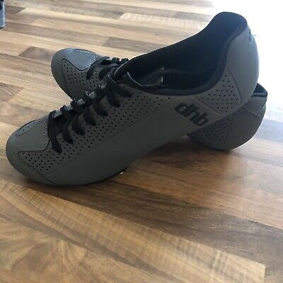 DHB Dorica Cycling Cleats - Size UK 9.5 - Grey - GREAT CONDITION - RRP £80 • 35£