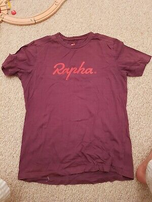 Rapha Purple Logo T-Shirt- Medium • 10£