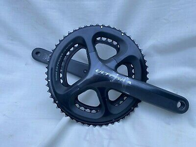 Shimano Ultegra Road Crankset - FC-6800 172.5mm 53/39 - Black • 34£