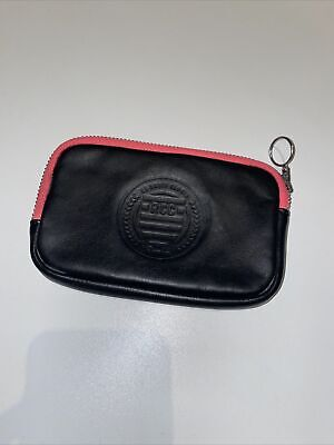 Rapha RCC Club Leather Wallet Black And Pink Essentials Case • 30£