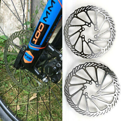 Bicycle 160mm 180mm Rotor MTB Bike Disc Brake Rotor For 6 Bolts Steel - Durable • 4.57£