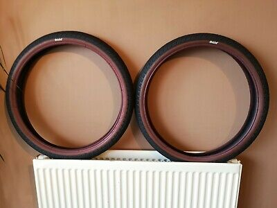 Eclat Pro BMX / Red Wall / Tyres • 24.50£