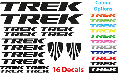 TREK Vinyl Decals Stickers Bike Frame Cycle Cycling Bicycle Mtb Road • 3.50£