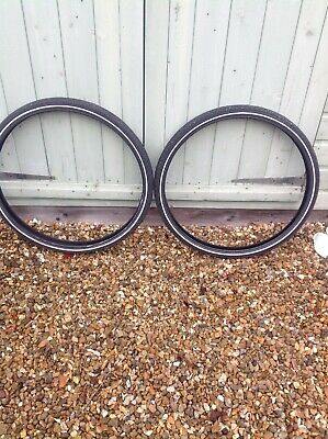 2 X Bicycle Tyres CST Traveller City Classic 26 X 1.75 • 1£