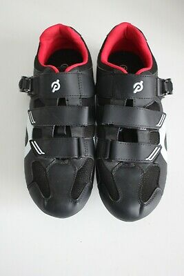 Peloton Black/Red Cycling Shoes Size 45 - UK Size:11 • 49.99£