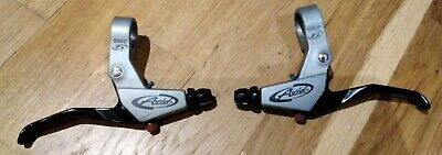 Retro Pair Avid Speed Dial 5 Cable Brake Levers In Mint Condition!!! • 3£