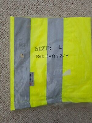 High Viz Trousers With Reflective Bands Size Large • 1.63£