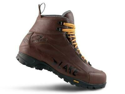 Lake MXZ200 Winter MTB Leather Lace-Up Boot | Brown | Size 43 • 179.99£