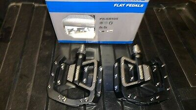 Pair Of New Shimano GR500 Trail Platform Pedals Including Box • 0.99£