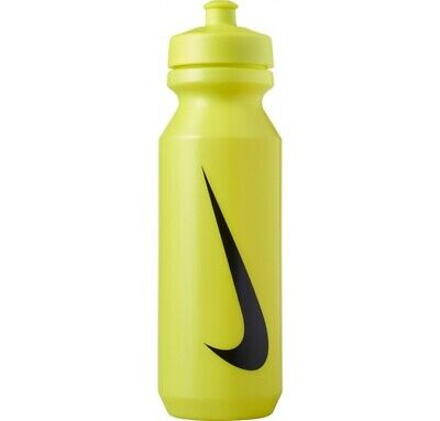 Nike Big Mouth Bottle  Sports Water Bottle Volt Green - 32oz Cycling Running Gym • 5£