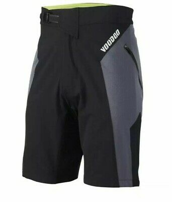 Voodoo MTB Cycling Shorts Size L Black / Grey  New Without Tags • 24.99£