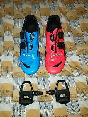 Btwin Cycling Shoes Cleats UK 6.5 • 39.99£