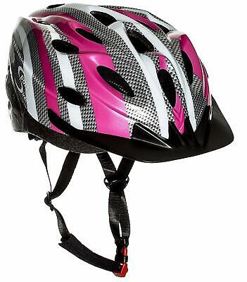Sport Direct™ Bicycle Bike Pink Womens Ladies Helmet 56-58cm CE EN1078 • 19.99£