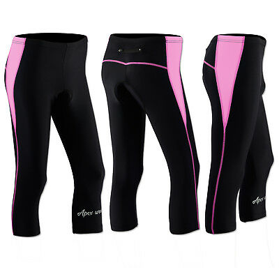 Ladies Cycling Tights Padded Compression Tights Cycle Womens Tights / Trousers • 18.95£