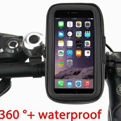 Bicycle Motor Bike 360° Waterproof Phone  Mount Holder For All Mobile Phones • 5.99£
