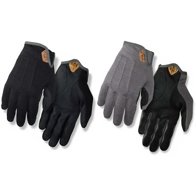Giro D'Wool Gloves 2020 Full Finger Cycling Gloves Merino Wool Gravel Road New • 26.99£