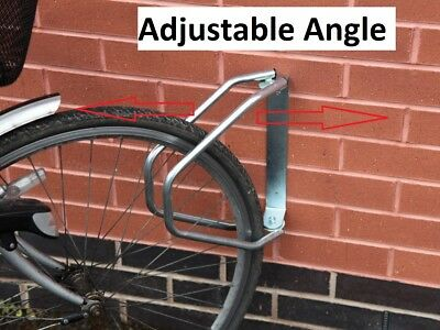Bicycle Cycle Floor Wall Mounted Parking Stand Rack Rail Storage Mountain Bike • 11.95£