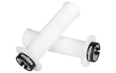 *white* Mongoose Bmx Scooter Mountain Bike  Grips. Lock On.     Acmghbgrip132wbk • 6.99£