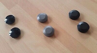 Pair Of Cotterless Crank Plastic Dust Caps Covers • 2£