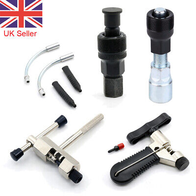 Bike Bicycle Chain Repair Tools Kit Wheel Crank Puller Extractor Remover Pedal  • 5.13£