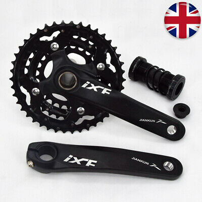 IXF 10 Speed Mountain Bike MTB Chainset 42-32-24T 170mm Crank Set Chainring BB • 57.15£