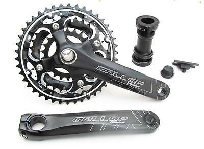 Hollowtech Chainset + External Bearing Bb Set ! 24 / 27 Speed, 22/32/42 Teeth • 46.95£