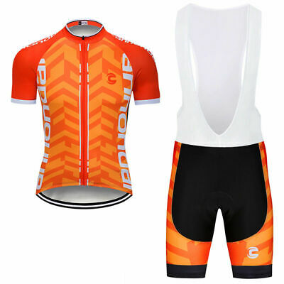 Mens Team Cycling Jersey And Bib Shorts Set Cycling Bib Shorts Cycling Bib Pants • 23.99£